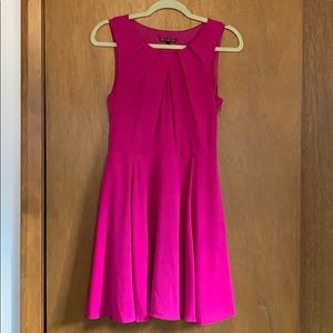 Express Dress with Peephole Detail